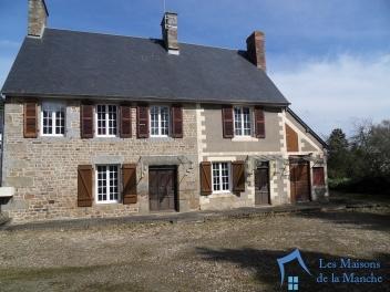 Maison de 125 m² à rénover à LES CHERIS (13 Km d'AVRANCHES 50300)