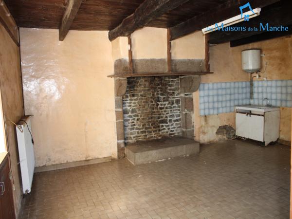 Maison à rénover de 70 m² + grenier, à quelques km de BRECEY