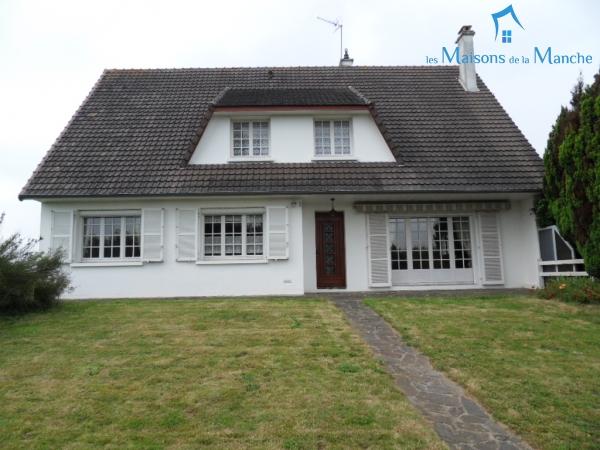Maison de type pavillon de 168 m² + sous sol de 91 m² entre BRECEY et AVRANCHES